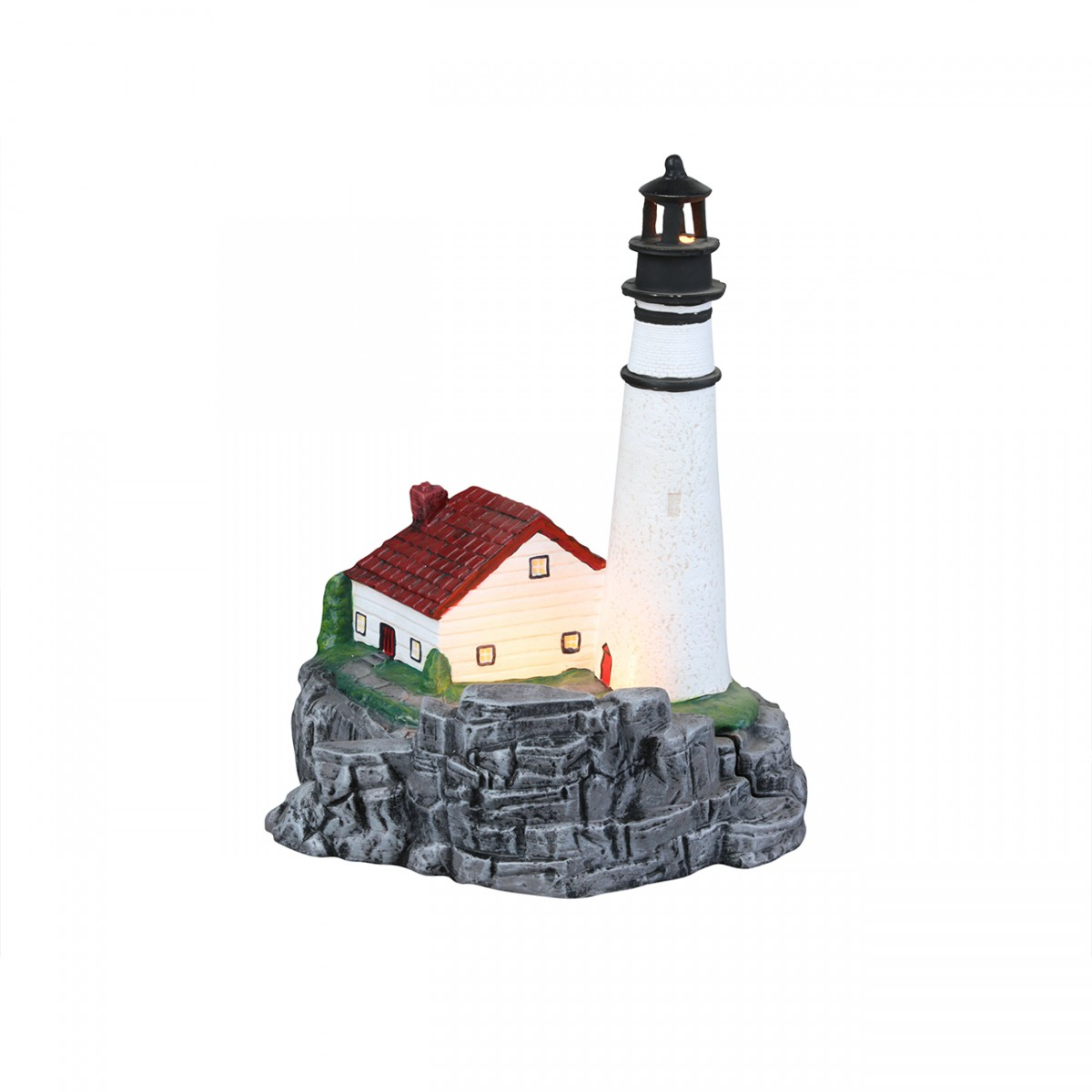 Table Lamps Lighthouse White Ceramic Lamp
