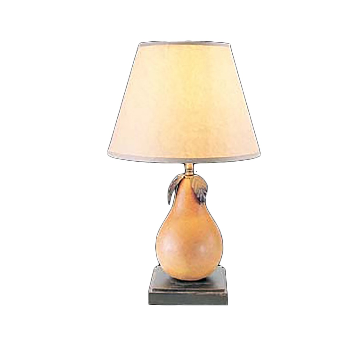 Lamp natural wood pear 16 78 h table lamp natural wood pear 16 78 h geotapseo Gallery