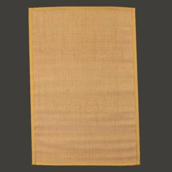 Rectangular Area Rug 6 x 4 Yellow Jute Rugs Rug Decorative Rugs