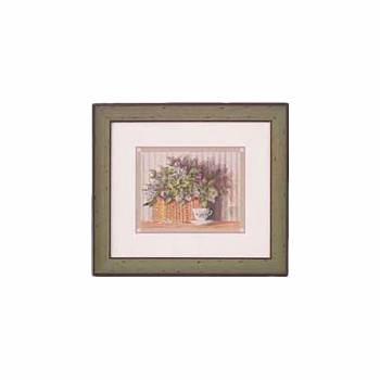 Wall Art Scent of Thyme Framed 25.5