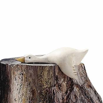 Wood Duck Decoy White 12