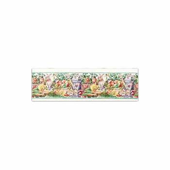 Wallpaper Borders Vegetable Garden Vinyl Wallpaper 64022grid