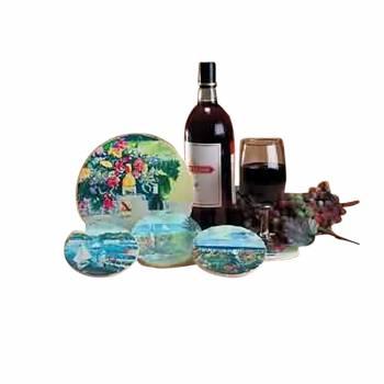 Coaster Sandstone Wine Trivet 7