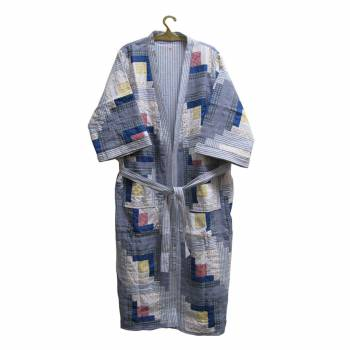 Cotton Sail-Style Bathrobe