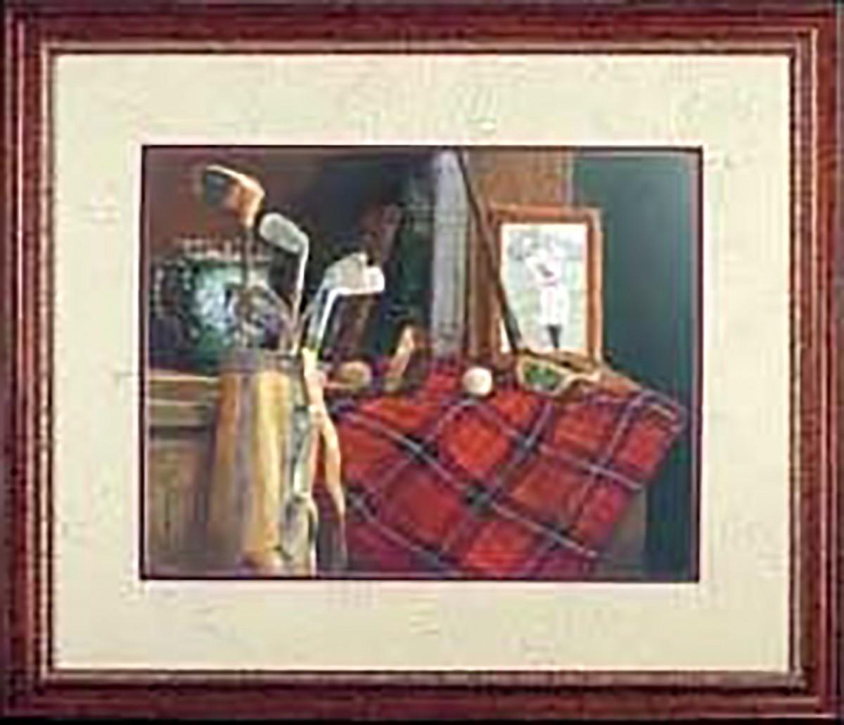 Wall Art Old Friends Golf Print Framed 30 x 24 Wall Prints Framed Art Decoratvie Framed Art