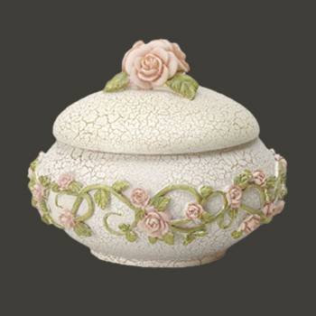 <PRE>Vintage Resin Soap Dish Camelia Powder of Trinket Box </PRE>zoom2