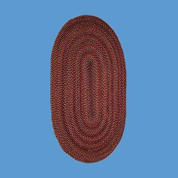 <PRE>Oval Area Rug 11' x 8' Red Nylon </PRE>