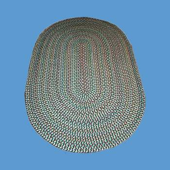 <PRE>Oval Area Rug 11' x 8' Green Nylon </PRE>zoom2