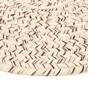 Oval Area Rug 3 x 2 Beige Nylon carpet oval circles indoor outdoor braided area rug nylon beige kitchen Braided Area Rugs