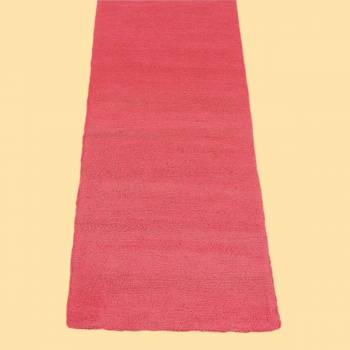 <PRE>Rectangular Area Rug 8' x 2' 6inch Red Cotton </PRE>zoom2