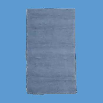 "spec-<PRE>Rectangular Area Rug 8' x 2' 6"" Blue Cotton </PRE>"