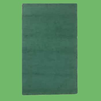 spec-<PRE>Rectangular Area Rug 8' x 2' 6&quot; Green Cotton </PRE>