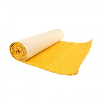 "<PRE>Carpet Runner Yellow 100% Cotton Hooked Rug 30inch x 96"" </PRE>zoom3"
