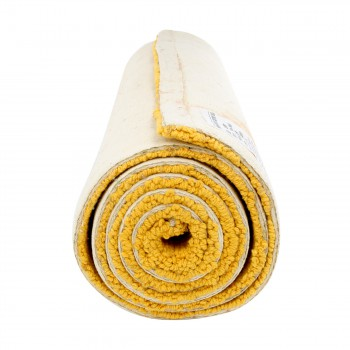 "<PRE>Carpet Runner Yellow 100% Cotton Hooked Rug 30inch x 96"" </PRE>zoom4"