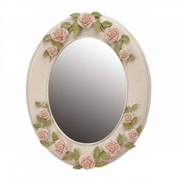 Victorian Camellia Mirror Ceramic