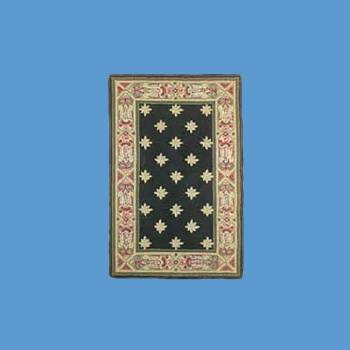 "<PRE>Rectangular Area Rug 5' 6inch x  3' 6"" Green Synthetic Blend </PRE>zoom2"