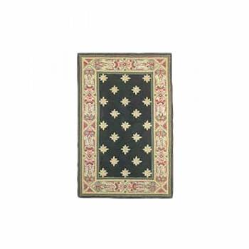 "<PRE>Rectangular Area Rug 5' 6inch x  3' 6"" Green Synthetic Blend </PRE>zoom1"