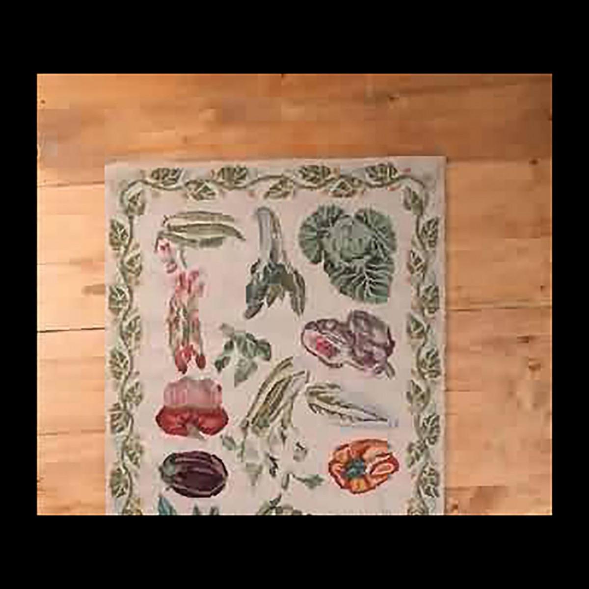 Rectangular Area Rug 5 6 x  3 6 White Wool Kitchen Mats Floor Mat Floor Mats