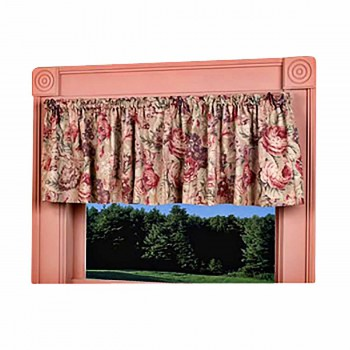 Cotton Waverly Valance Khaki Lookout Mountain 79 x 155