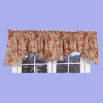 <PRE>Cotton Waverly Valance Khaki Lookout Mountain 102inchW </PRE>zoom2