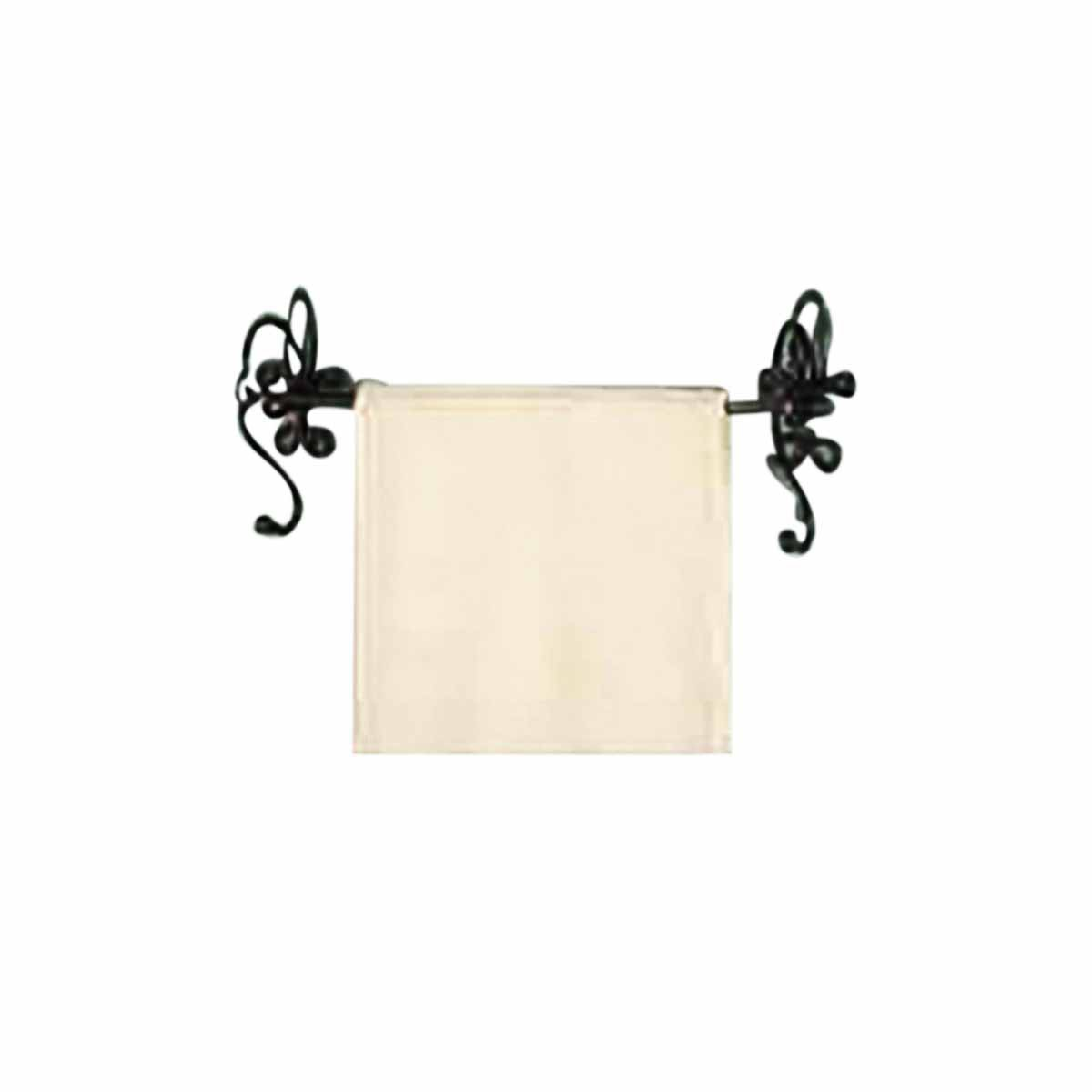 towel bar nickel 18 bar bathroom. Black Bedroom Furniture Sets. Home Design Ideas