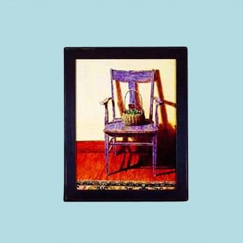 <PRE>Framed Print Blue Chair 24inch x 29.5&quot; Wall Art </PRE>zoom2