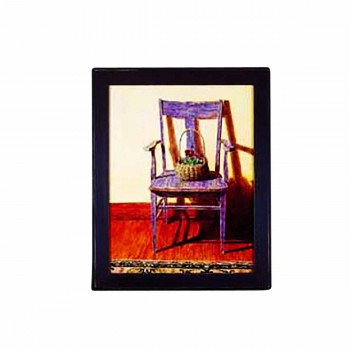 Framed Print Blue Chair 24