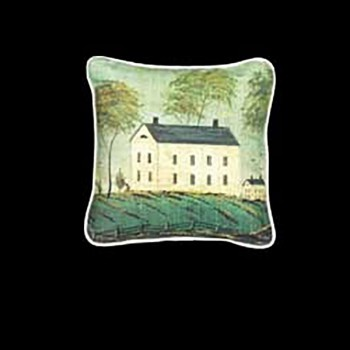 <PRE>Cotton Pillow Light House on the Hill 18inch Square </PRE>zoom3