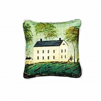 Cotton Pillow Light House on the Hill 18 Square Pillows Cotton Pillow Cotton Pillows