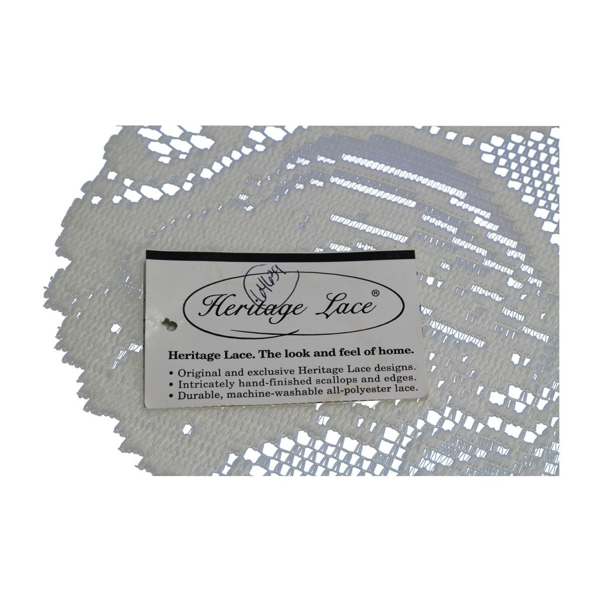 Table Cloth Angel Ecru Polyester 36L x 15W Tablecloth Tablecloths Decorative Tablecloth