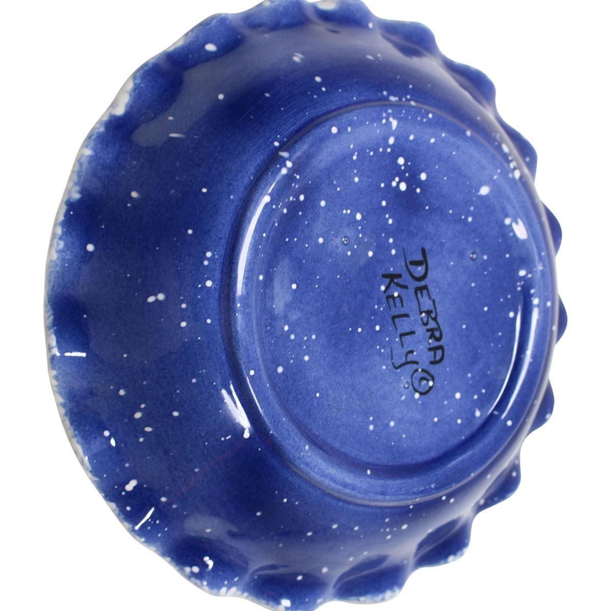Pie Plate Snowman Blue Ceramic Plate Debra Kelly Pie Plate Pie Plates Decorative Pie Plate