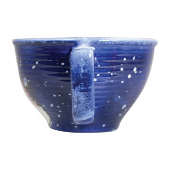 <PRE>Mixing Bowl Snowman Blue Ceramic Debra Kelly </PRE>zoom7