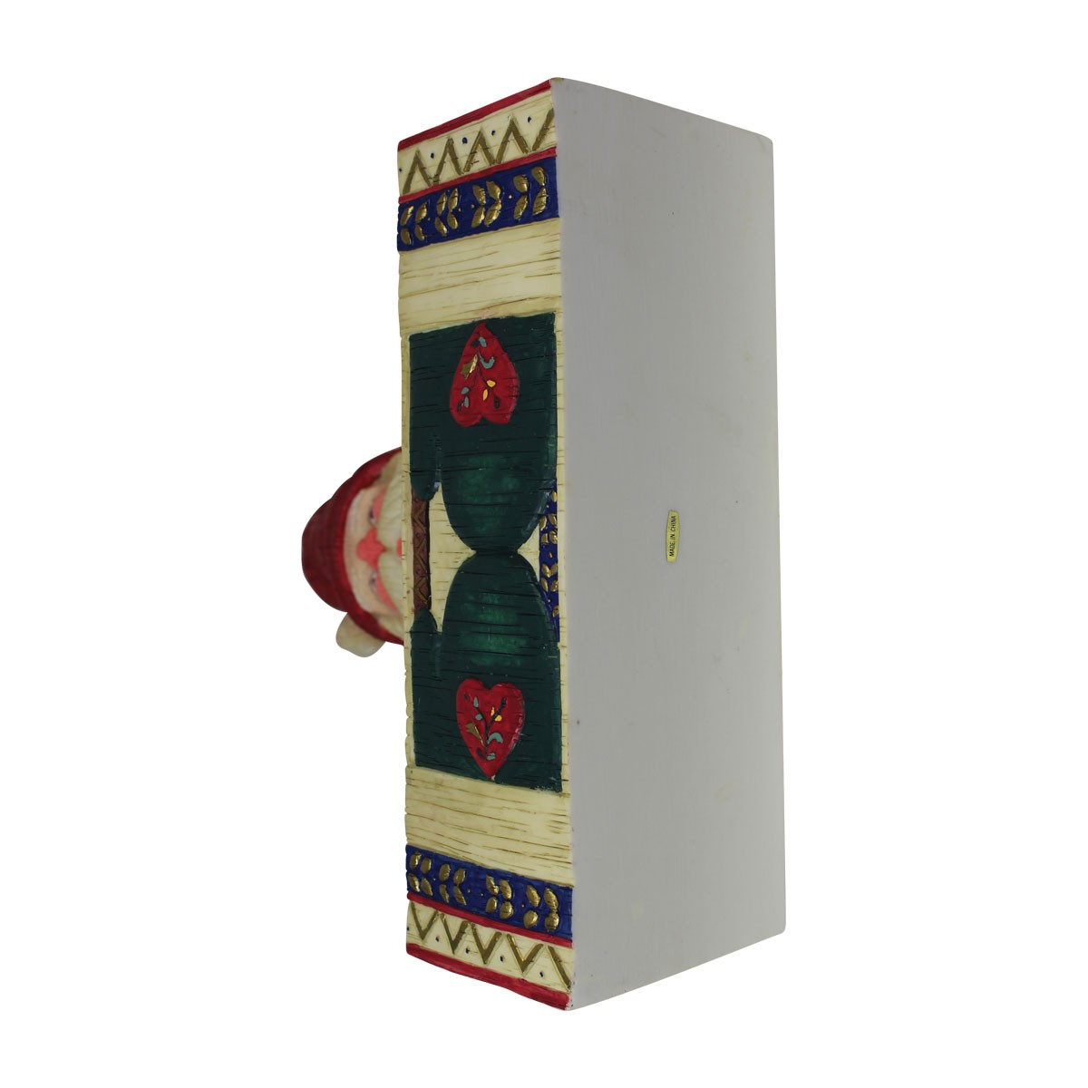 Greeting Card Holder Santa Holiday RedWhite Holder Card Holder Card Holders Christmas Card Holder
