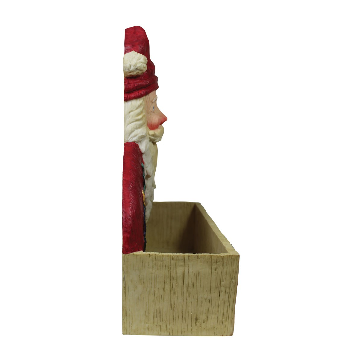 Greeting card holder santa holiday redwhite holder pregreeting card holder santa holiday redwhite holder m4hsunfo