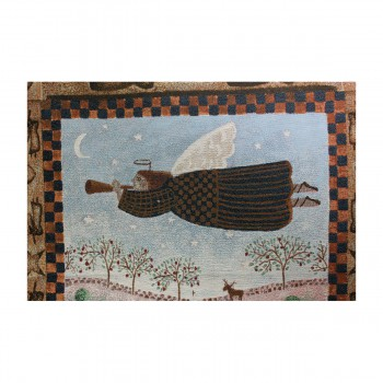 "<PRE>Angel Hanging Wall Quilt Acrylic-Polyester 26inchW x 36""L </PRE>zoom5"