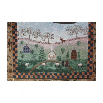 "<PRE>Angel Hanging Wall Quilt Acrylic-Polyester 26inchW x 36""L </PRE>zoom6"