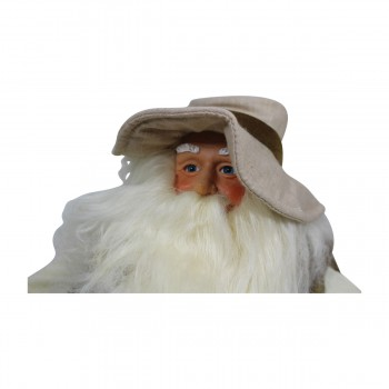 <PRE>Santa Fishing Centerpiece Resin Decorative 11inchH </PRE>zoom5