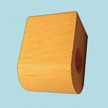 "spec-<PRE>Curtain Rod Coupler Support Country Pine 3"" Projection </PRE>"