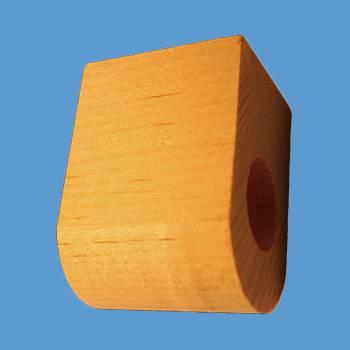 <PRE>Curtain Rod Coupler Support Unfinished Pine 3inch Projection </PRE>zoom2