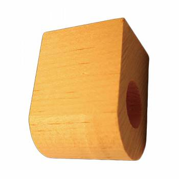<PRE>Curtain Rod Coupler Support Unfinished Pine 3inch Projection </PRE>zoom1