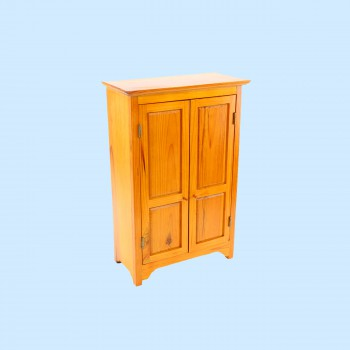 spec-<PRE>Miniature Furniture Mini Armoire Holiday Decoration 17&quot;H </PRE>