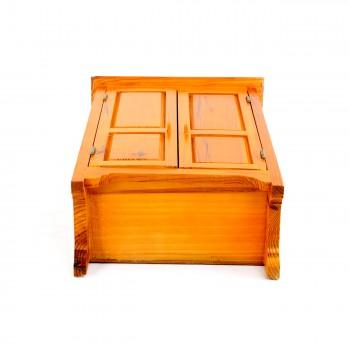 <PRE>Miniature Furniture Mini Armoire Holiday Decoration 17inchH </PRE>zoom5