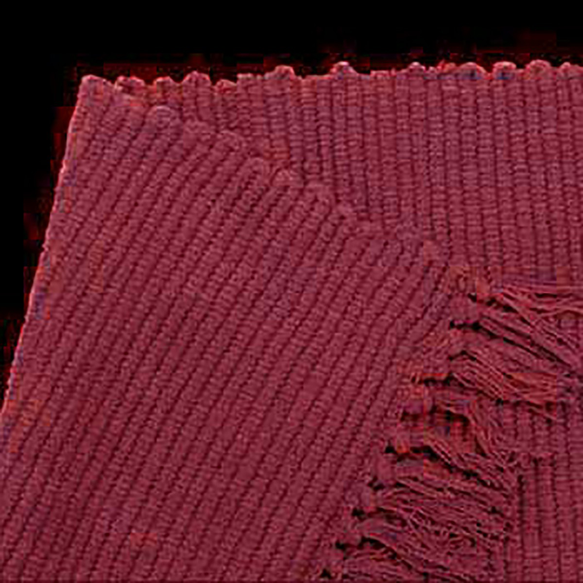 Rectangular Area Rug 8 x 2 6 Red Cotton Carpet Runner Carpet Runners Stairs Runner