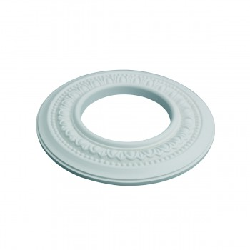 "<PRE>5 Spot Light Ring White Trim 4inch ID x 8"" OD Mini Medallion Set of 5 </PRE>zoom4"