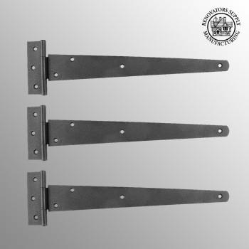 T Strap Door Hinge Black RSF Iron 13 Pack of 3 T Tee Strap Door Cabinet Iron Flush Hinge Door Hinge Tee T Hinge
