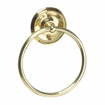 Solid Brass Towel Ring 61/4
