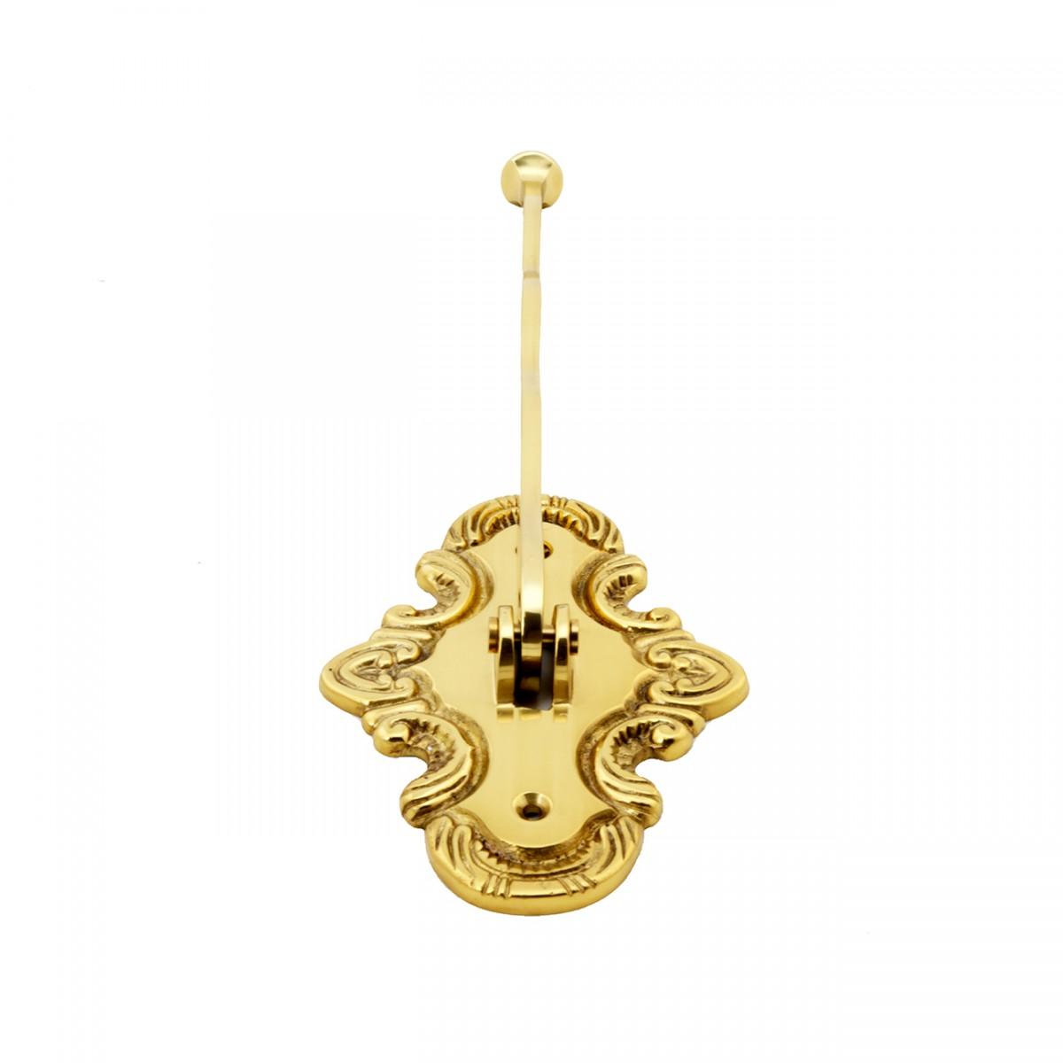 Solid Brass Clothes Hook Rack Folding Robe Hangers Hooks Decorative Hook Coat Hook