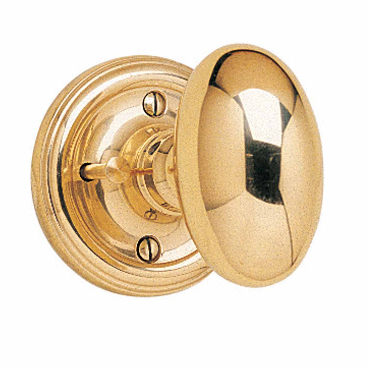 ... U003cPREu003ePrivacy Door Knob Set Oval Solid Brass 2 3/8u0027u0027 ...