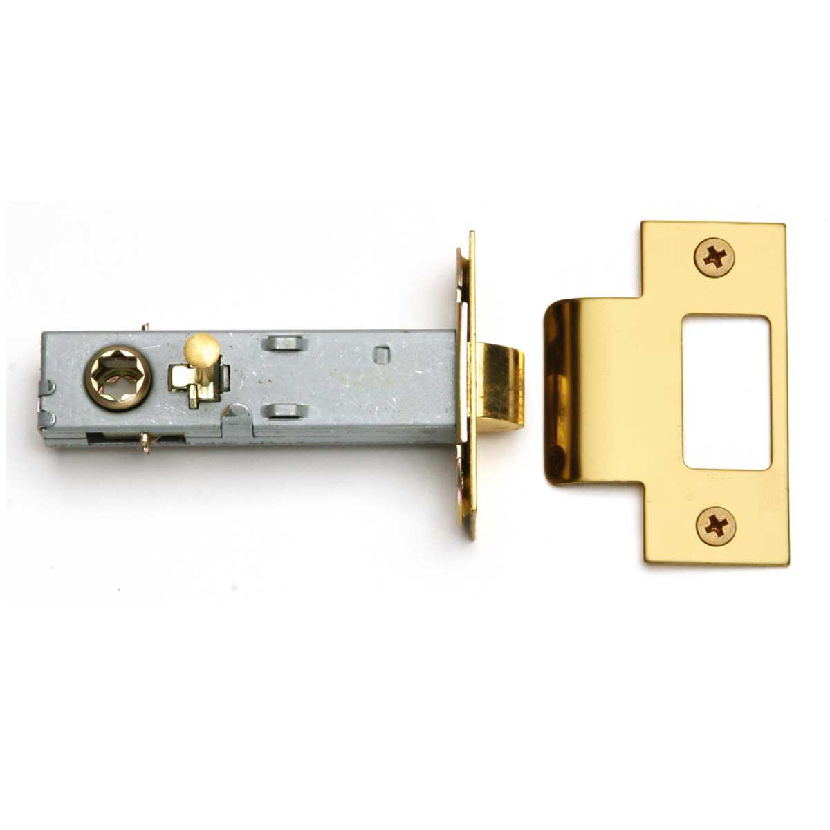 ... U003cPREu003eReversible Brass Door Latch Set   Easy Install   Privacy Pinu003c/ ...