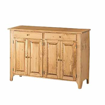 Walden Honey Pine Walden Hutch Base Honey Pine 35 H x 55 W666640grid